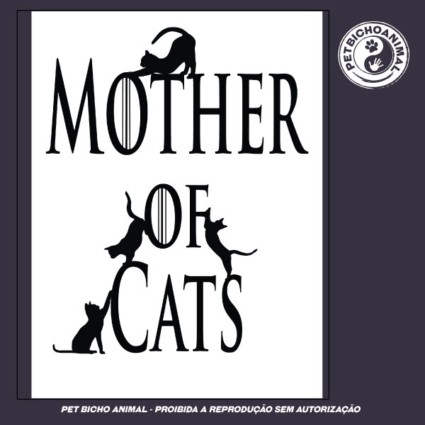 Camiseta -  Mother of Cats 3