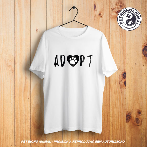 Camiseta -  Adopt 1