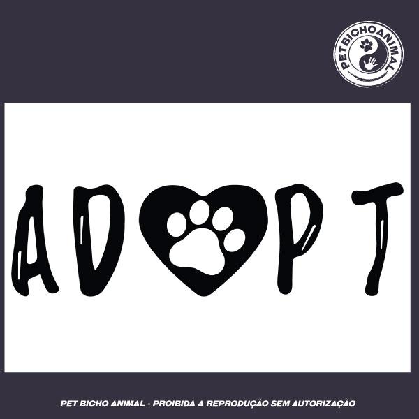 Camiseta -  Adopt 2