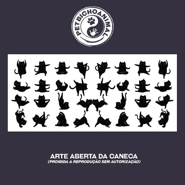 Caneca - Gato Zen 2
