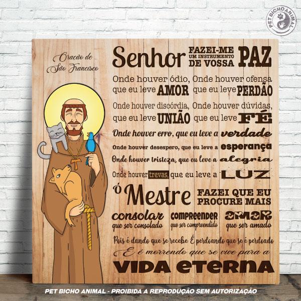 Azulejo Decorativo - Oração São Francisco de Assis -  Edição Especial 1