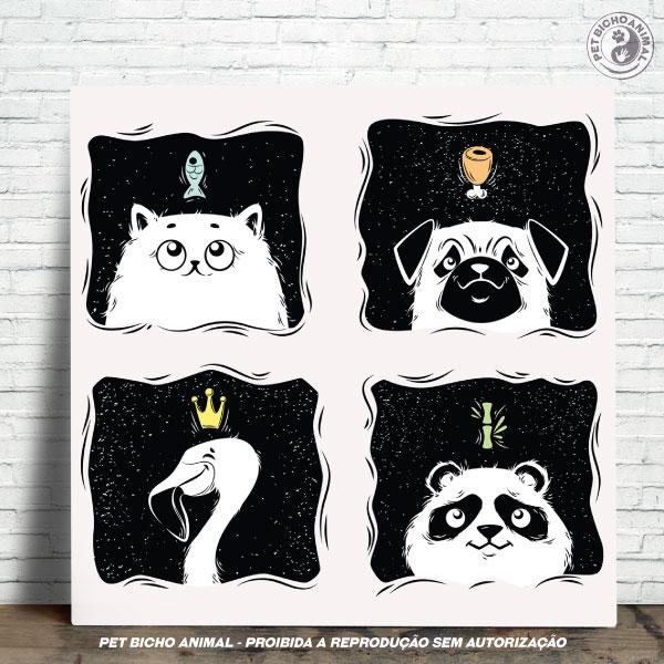 Azulejo Decorativo - O Sonho dos Animais 1