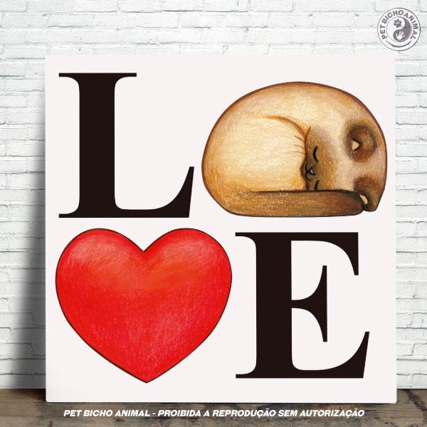 Azulejo Decorativo - Love Cats 1