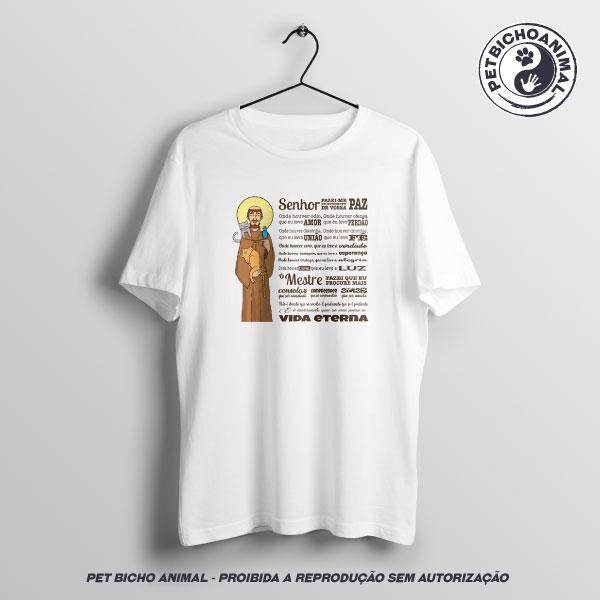 Camiseta -  Oração São Francisco de Assis - Edição Especial 3