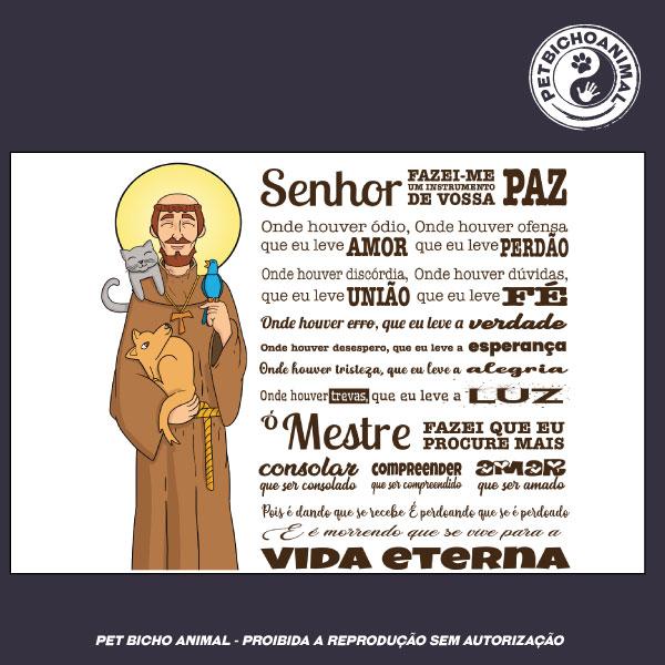 Camiseta -  Oração São Francisco de Assis - Edição Especial 2