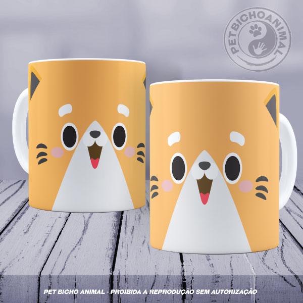 Caneca Coleção Kids - Cara de Gato 1 1