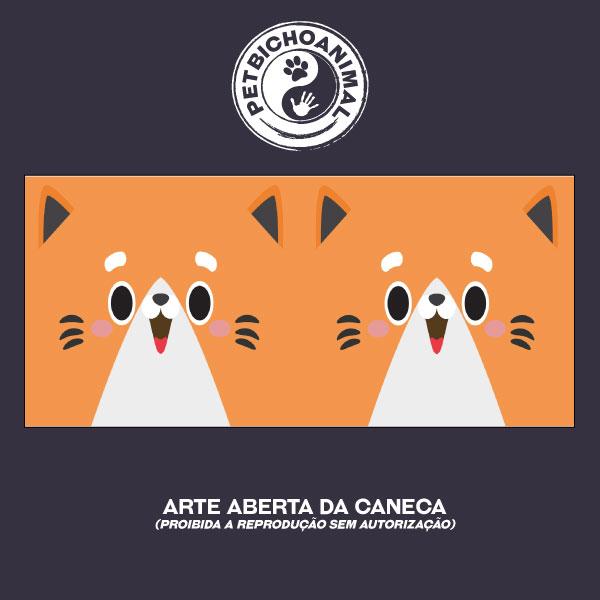 Caneca Coleção Kids - Cara de Gato 1 2