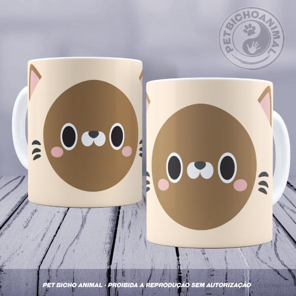 Caneca Coleção Kids - Cara de Gato 4 1