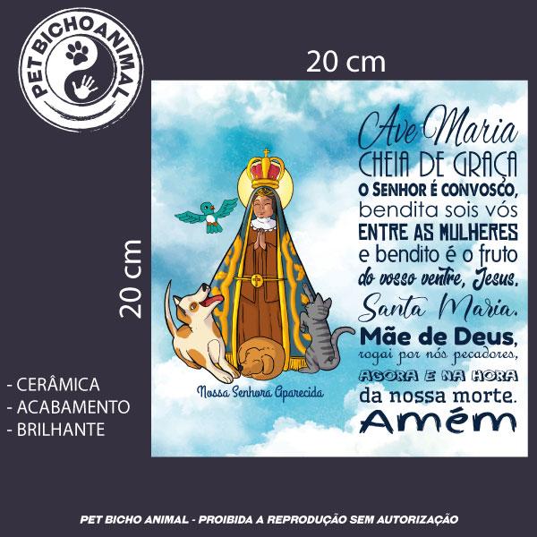 Azulejo Decorativo - Nossa Senhora Aparecida - Padroeira do Brasil 3