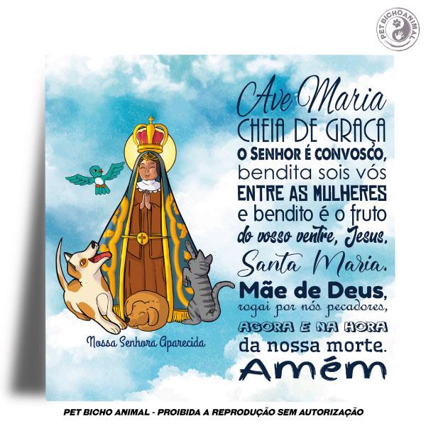 Azulejo Decorativo - Nossa Senhora Aparecida - Padroeira do Brasil 2