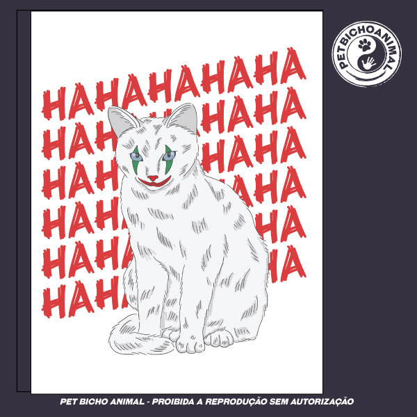 Camiseta - Coringa Gato 2
