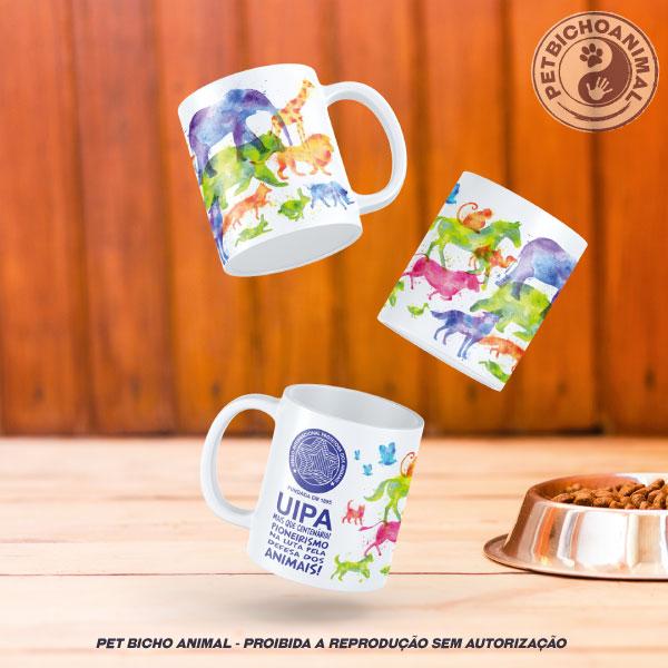 Caneca Exclusiva UIPA -União Internacional Protetora dos Animais 1
