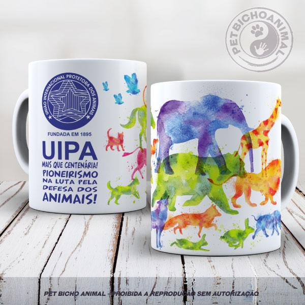 Caneca Exclusiva UIPA -União Internacional Protetora dos Animais 2