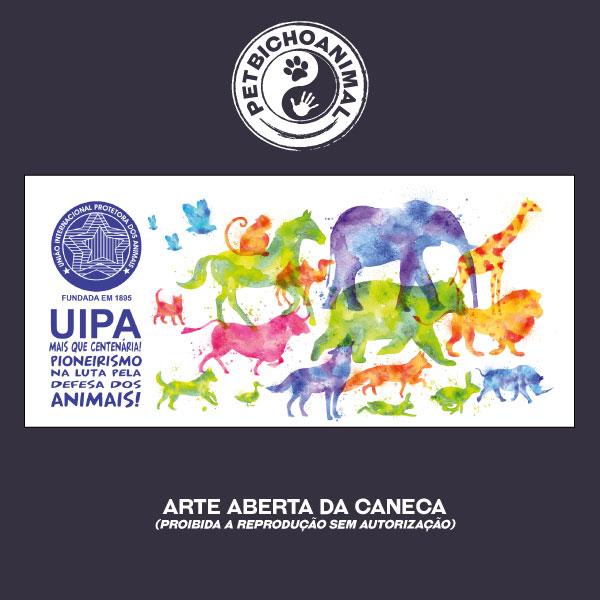 Caneca Exclusiva UIPA -União Internacional Protetora dos Animais 3