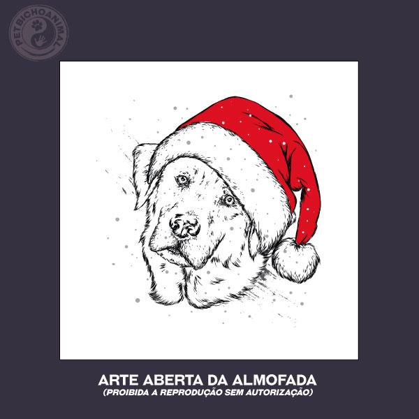 Almofada Natal do Cão 2