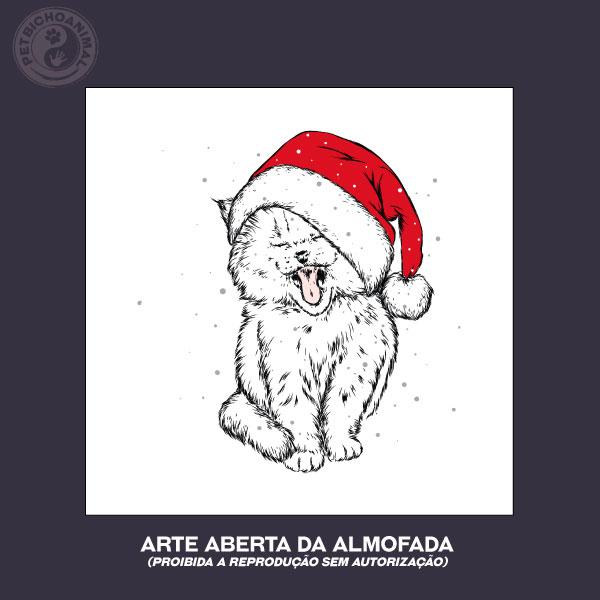 Almofada Natal do Gato 2