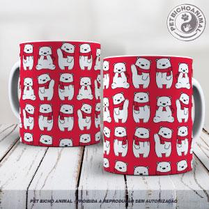 Caneca - Ursos de Natal 1
