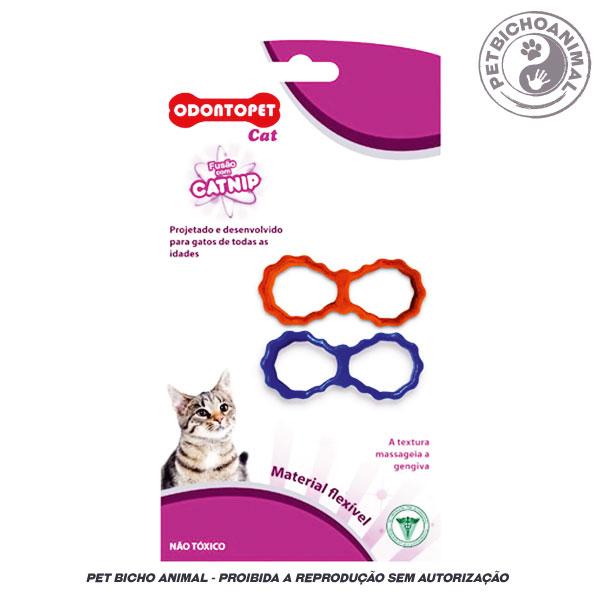 Brinquedo para Gatos - Odontopet Cat Laço com Catnip 1