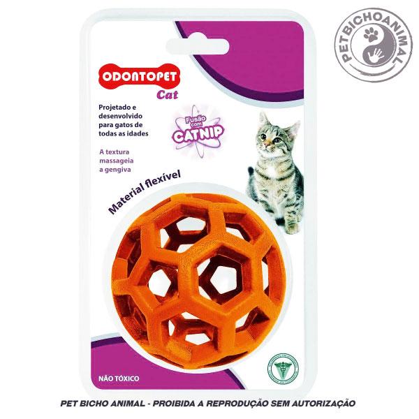 Brinquedo para Gatos - Odontopet Cat Bola com Catnip 1