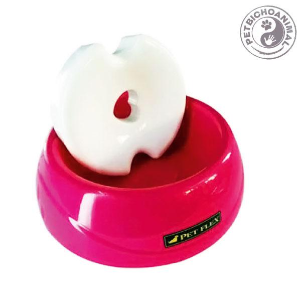 Bebedouro Pet Flex para Animais de Pelo Longo Tamanho P Rosa 1