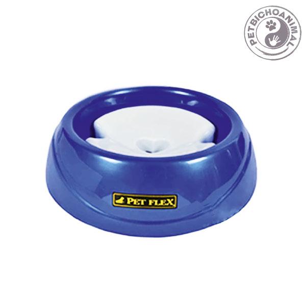 Bebedouro Pet Flex para Animais de Pelo Longo Tamanho G Azul 1