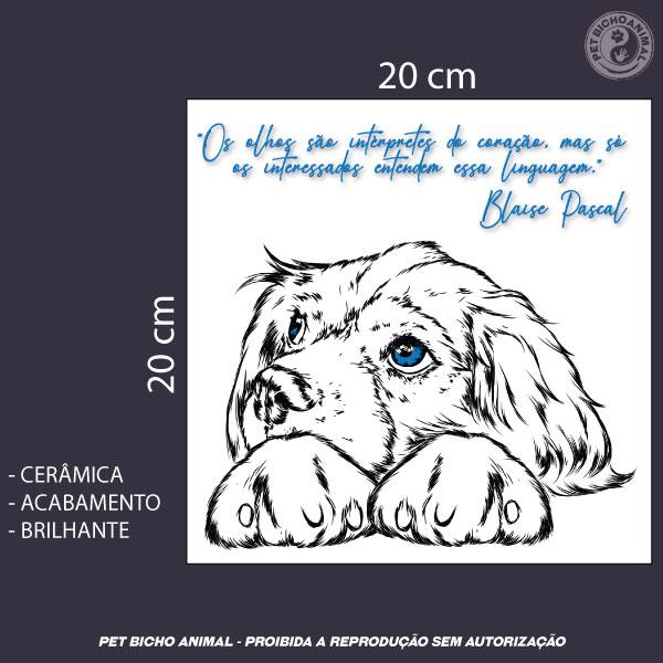 Azulejo Decorativo - Olhar de um Cão 3