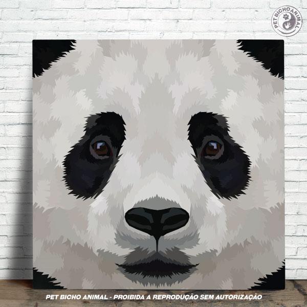 Azulejo Decorativo - Close de um Panda 1