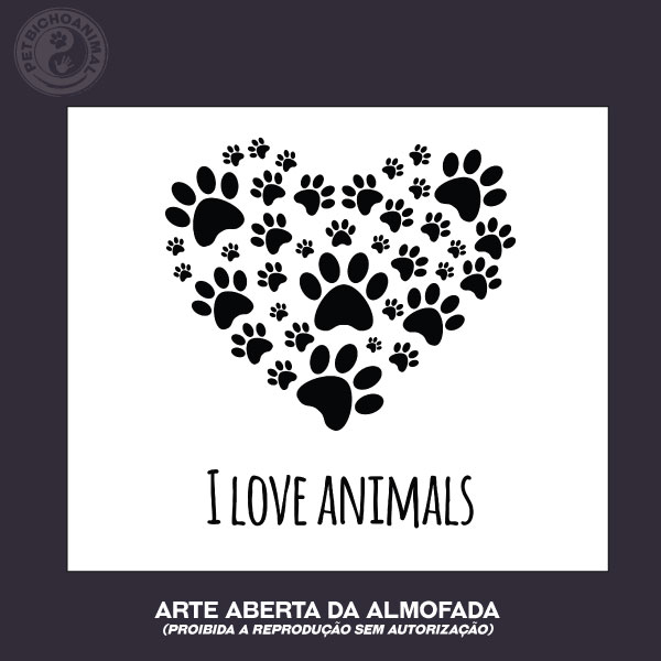 Almofada I Love Animals 3