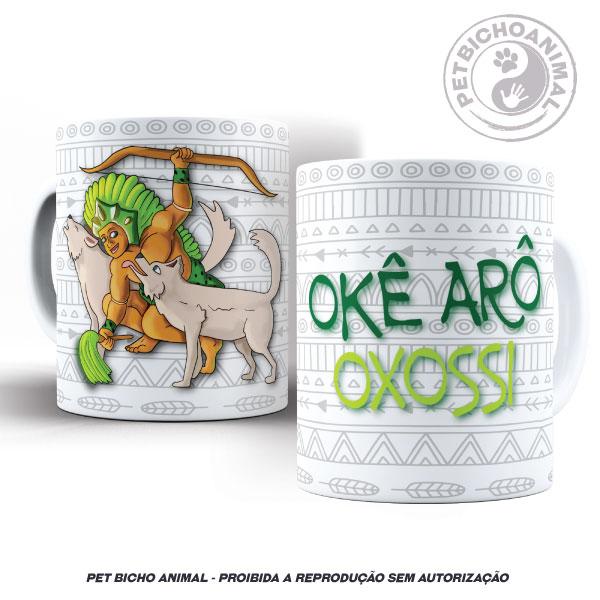 Caneca - Coleção Orixás e os Animais - Oxossi 2