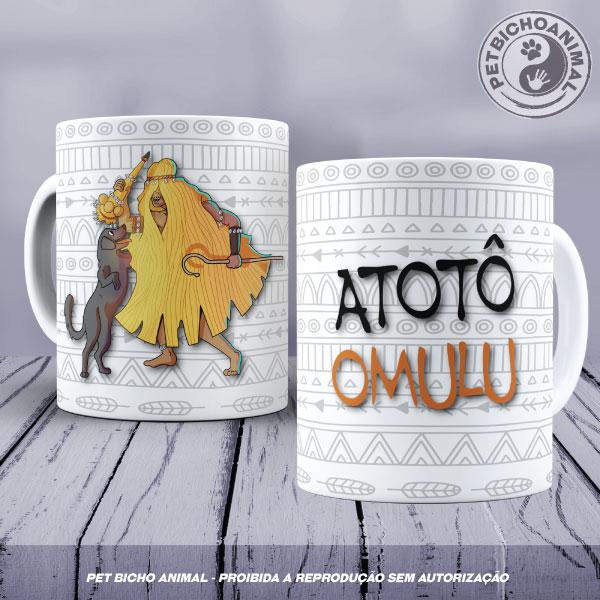 Caneca - Coleção Orixás e os Animais - Omulu 1