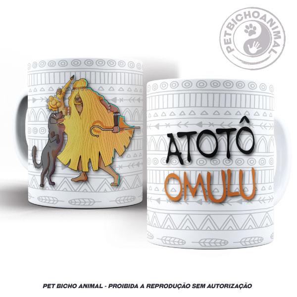 Caneca - Coleção Orixás e os Animais - Omulu 2