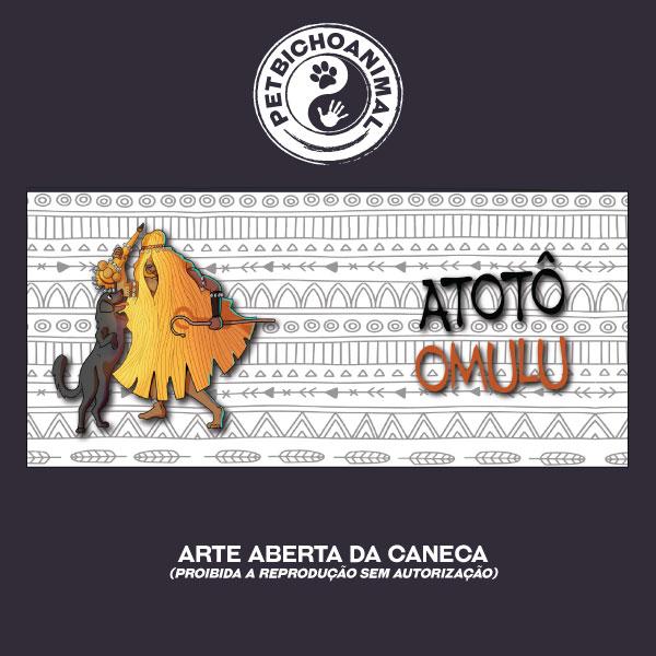 Caneca - Coleção Orixás e os Animais - Omulu 3