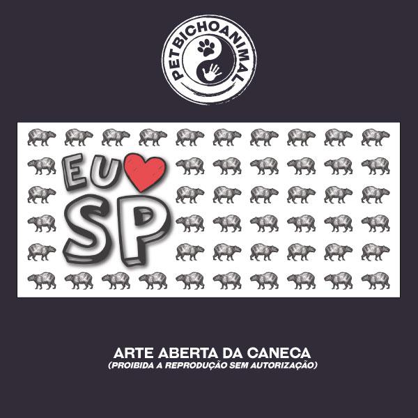 Caneca - Eu Amo São Paulo 3