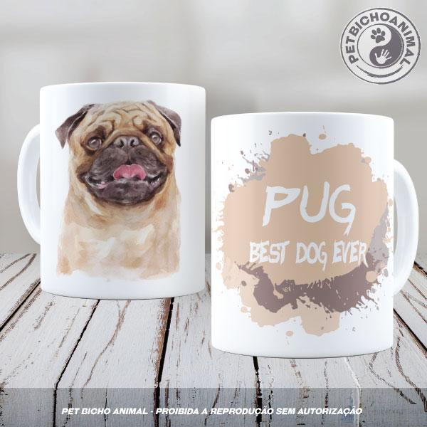 Caneca Coleção Best Dog Ever – Raça Pug 1