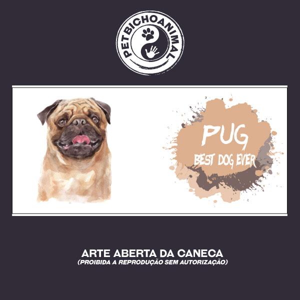 Caneca Coleção Best Dog Ever – Raça Pug 3