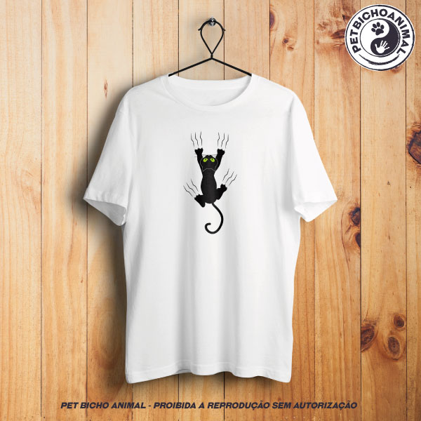 Camiseta - Gato Preto 1