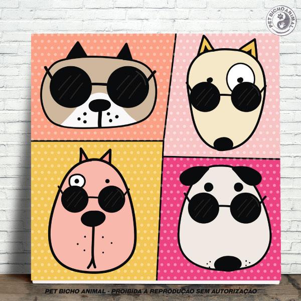 Azulejo Decorativo - Cool Dogs 1
