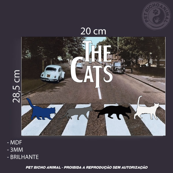 Quadro The Cats 3